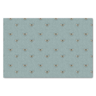 Beautiful Chic Hand-Drawn Bee Pattern Tissue Paper