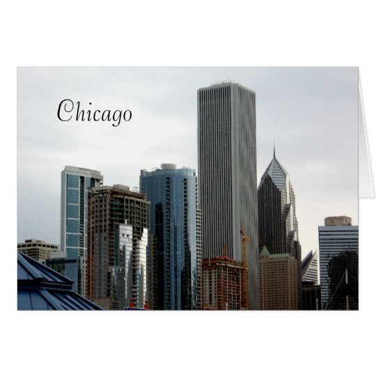 Beautiful Chicago Architecture Card