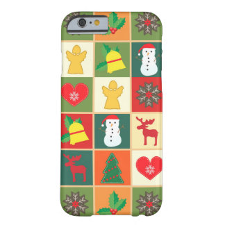 Beautiful Christmas Figures Barely There iPhone 6 Case
