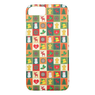 Beautiful Christmas Figures by storeman iPhone 8/7 Case