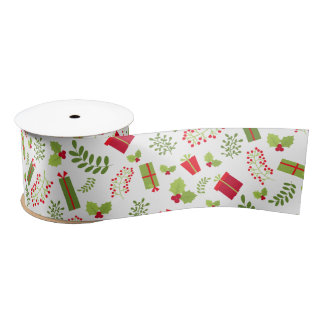 Beautiful Christmas Gifts Satin Ribbon
