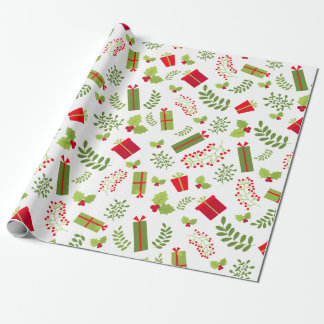 Beautiful Christmas Gifts Wrapping Paper