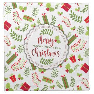 Beautiful Christmas Script Gifts Napkin