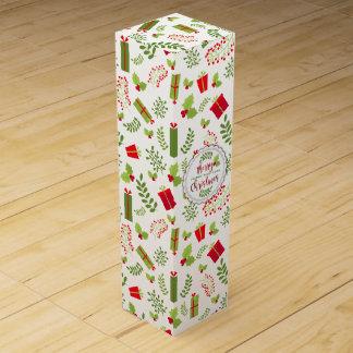Beautiful Christmas Script Gifts Wine Gift Box