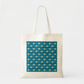 Beautiful Christmas White Poinsettia & Greenery Tote Bag