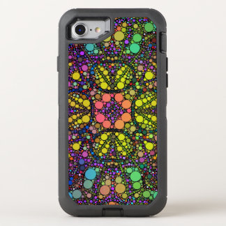 Beautiful Circle Abstract Pattern OtterBox Defender iPhone 7 Case