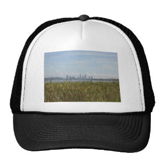 Beautiful City Of Perth Across The River Mesh Hat