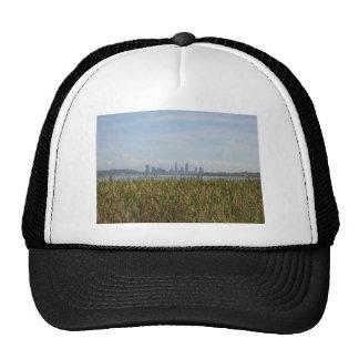 Beautiful City Of Perth Across The River Mesh Hat