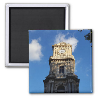 Beautiful Clock Tower at Dolmabahce square Magnet