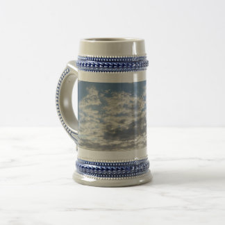 Beautiful Clouds Gray /Blue 22 oz Stein