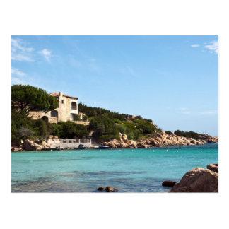 beautiful coast in Sardinia 1 Postcard