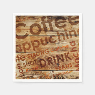 Beautiful Coffee Kitchen Drink Disposable Napkins