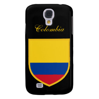 Beautiful Colombia Flag Galaxy S4 Cover
