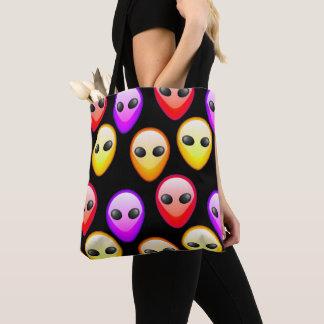 Beautiful Colorful Aliens texture bag