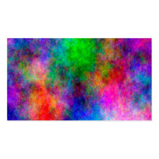beautiful Colorful  Art Cloth effects Pack Of Standard Business Cards
