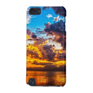 Beautiful Colorful Bright Sunset Striking Clouds iPod Touch 5G Cases