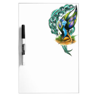 Beautiful Colorful Celtic Forest Faery Dry Erase Board