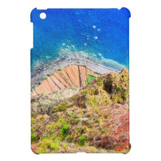 Beautiful colorful coastal landscape with blue sea cover for the iPad mini