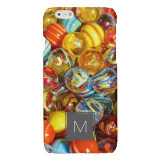 beautiful colorful glass marble balls photograph