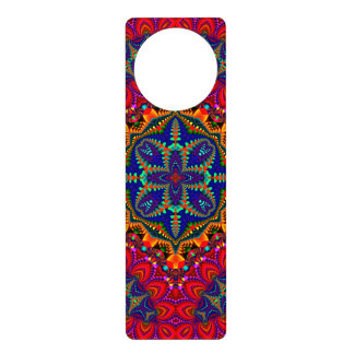 Beautiful colorful Kaleidoscope Door Hanger