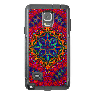 Beautiful colorful Kaleidoscope OtterBox Samsung Note 4 Case