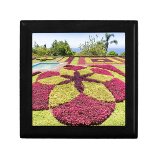Beautiful colorful patterns and shapes in garden gift box