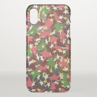 Beautiful colorful Stars iPhone X Case