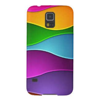 beautiful colorful vector art galaxy s5 cover