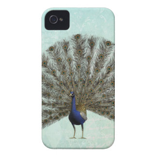 Beautiful Colorful Vintage Peacock iPhone 4 Cover