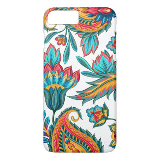 Beautiful Colorful Watercolors Ethnic Paisley iPhone 8 Plus/7 Plus Case