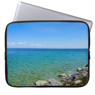 Beautiful Colors Of Lake Huron Laptop Sleeve
