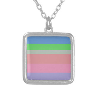 beautiful colors soft lovely style new fashion silver plated necklace
