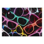 Beautiful Colourful sunglasses Personalised Invitations