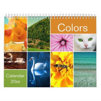Beautiful Colours Calendar