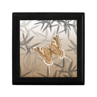 Beautiful Copper Butterfly Design Gift Box