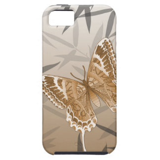 Beautiful Copper Butterfly Design iPhone 5 Covers