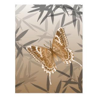 Beautiful Copper Butterfly Design Postcard