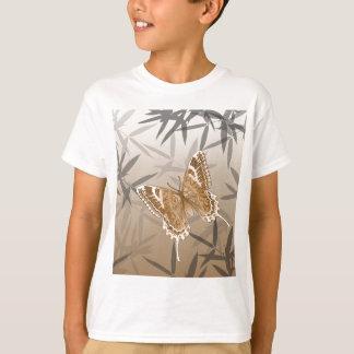 Beautiful Copper Butterfly Design T-Shirt