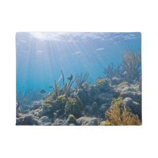 Beautiful Coral Reef Doormat
