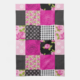 Beautiful Country Patchwork Quilt Towel