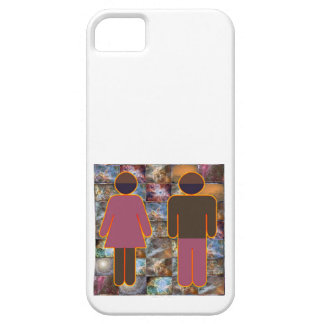 Beautiful Couple - Male Female Indicator iPhone 5 Covers