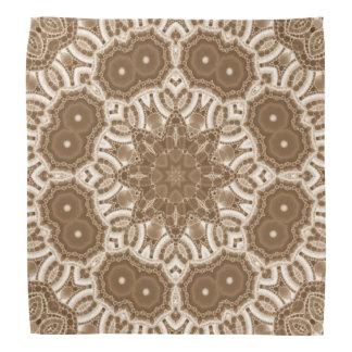 Beautiful Cream Abstract Pattern Bandana