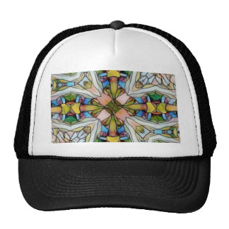 Beautiful Cross Shaped Stained Glass Inspirational Cap