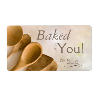 Beautiful Custom Baker's Labels