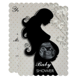 Beautiful Customizable BABY SHOWER INVITATION