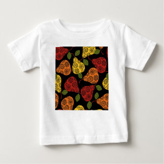 Beautiful Cute pears, yellow,  orange, maroon Baby T-Shirt