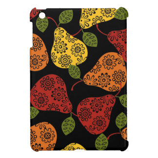 Beautiful Cute pears, yellow,  orange, maroon iPad Mini Cover
