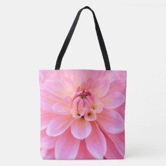 Beautiful Dahlia (closeup) Tote Bag
