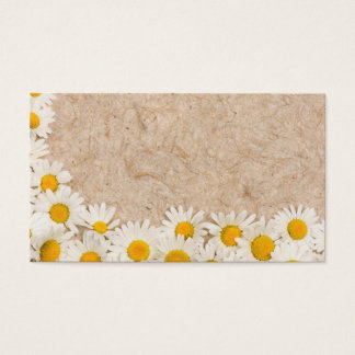 Beautiful daisies business card