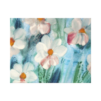 Beautiful Daisies Canvas Print
